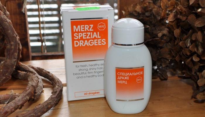 Витамины Мерц для волос