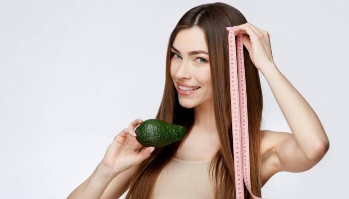 Полезные продукты для волос и кожи