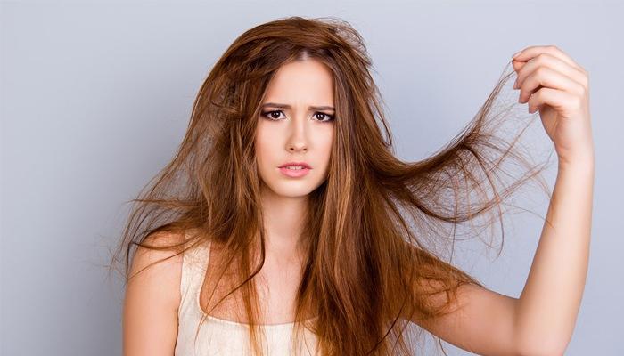 Волосы сухие как солома: почему, маски