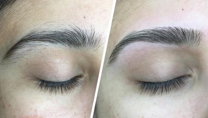 Формы бровей для разных типов лица: фото до и после