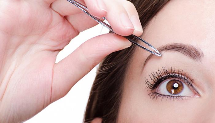 Как выщипать брови правильно и красиво: фото пошагово, видео
