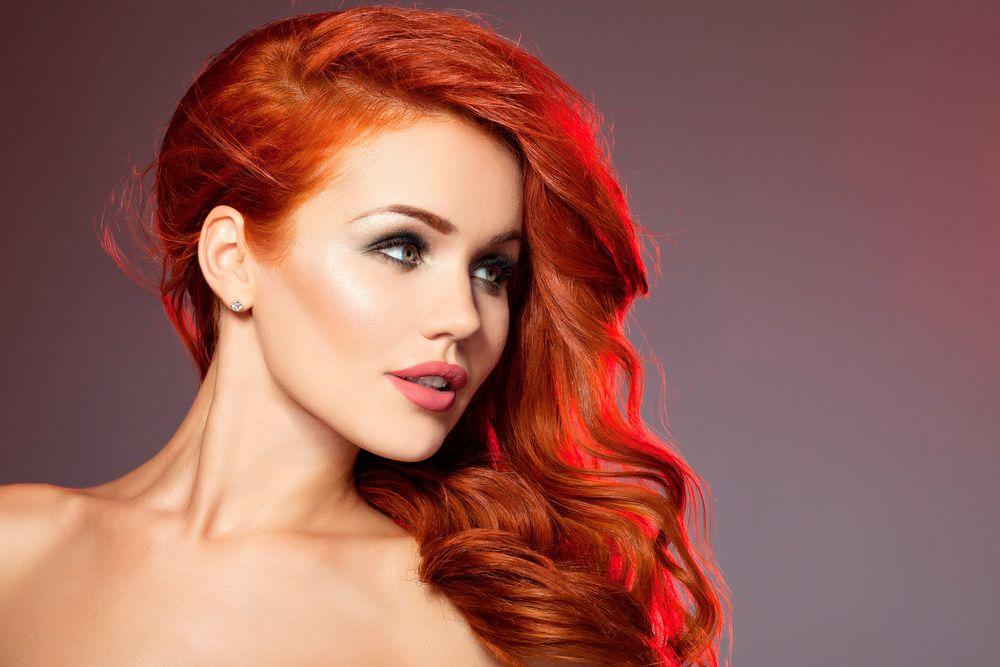 Рыжий цвет волос: фото, оттенки